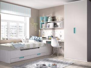 Comprar dormitorio juvenil compacto