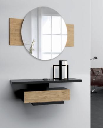 Comprar recibidores modernos en Valencia. Comprar recibidores con espejo incluido. Recibidores con