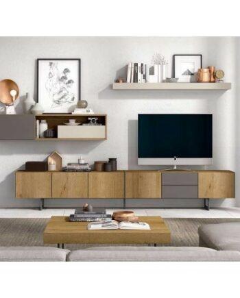 Comprar muebles de kazzano. Composición kazzano 27. Muebles de salón. Comprar muebles de salón en Valencia. Comprar muebles de salón.